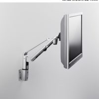 Wall mounted arm